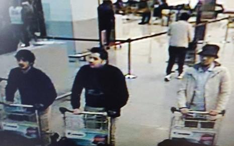 Bỉ công bố hình ảnh ba nghi phạm tấn công Brussels - ảnh 1