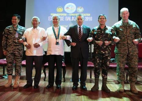 8.000 binh lính Mỹ, Philippines bắt đầu tập trận chung - ảnh 1