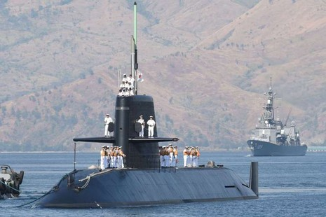 Tàu ngầm, chiến hạm Nhật đến Philippines - ảnh 1