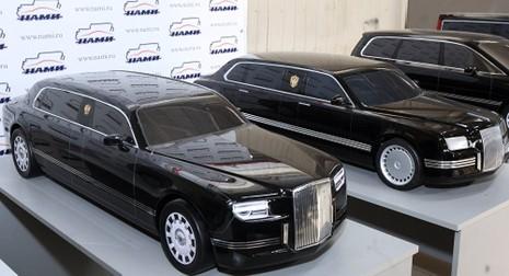 Tổng thống Putin sắp nhận xe limousine 'khủng' - ảnh 1
