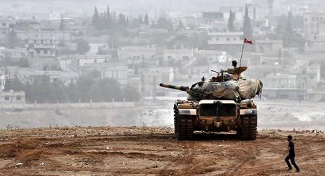 100 lính đặc nhiệm Thổ Nhĩ Kỳ tiến vào Syria - ảnh 1