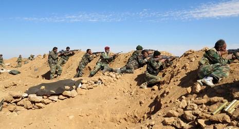 Quân chính phủ Syria ráo riết chạy đua, tái chiếm Raqqa - ảnh 1