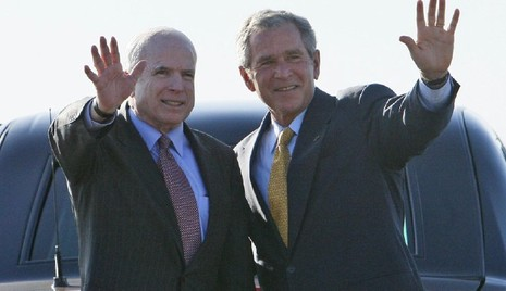 Ông George Bush tái xuất 'giải nguy' cho đảng Cộng hòa - ảnh 1
