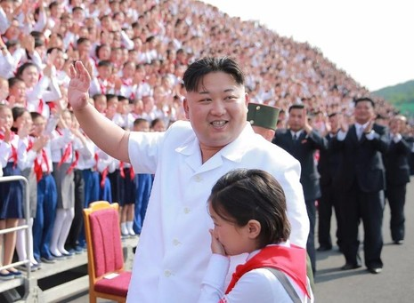 Kim Jong-un tăng 40kg