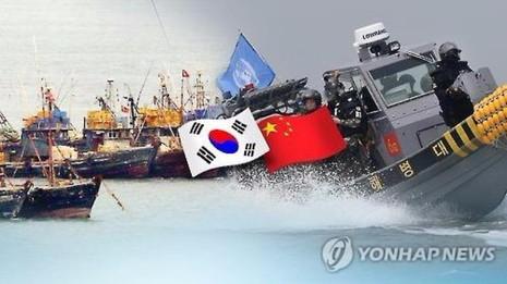 tàu cá Trung Quốc vào biển Hàn Quốc