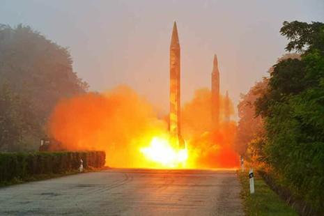 Triều Tiên để lộ mục tiêu tấn công hạt nhân đầu tiên  - ảnh 2
