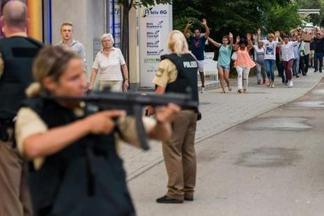 xả súng tại Đức