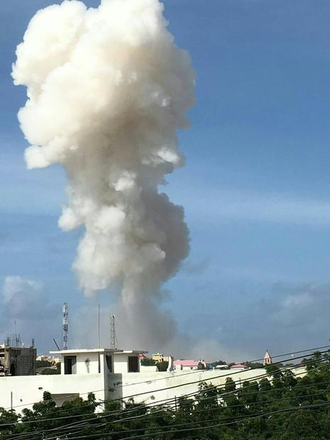 nổ bom khủng bố tại Somalia