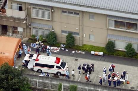 tấn công bằng dao ở Nhật