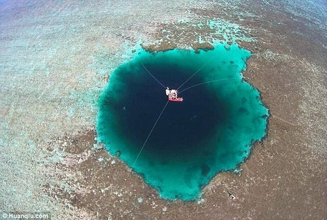 phát hiện hố tử thần ở Biển Đông