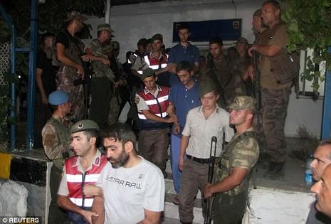 11 biệt kích Thổ Nhĩ Kỳ bị bắt