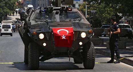 cảnh sát Thổ Nhĩ Kỳ