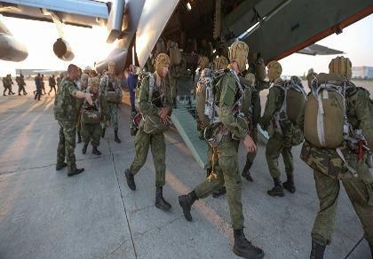 Lính nhảy dù Nga