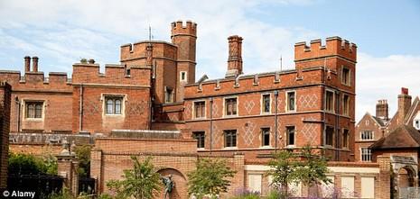 Trường nội trú Eton của Anh