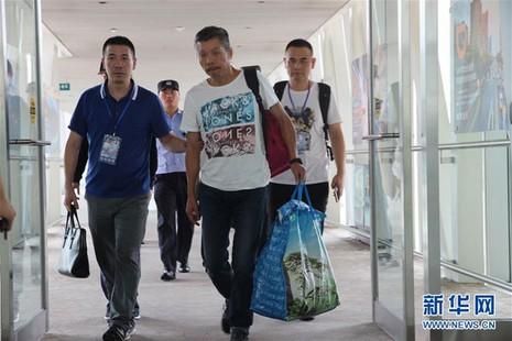 nghi phạm bị dẫn độ từ Pháp về Trung Quốc