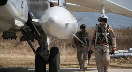 không quân Nga ở Syria
