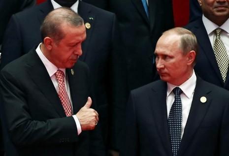 Putin và Erdogan