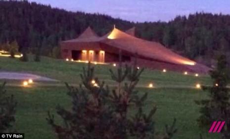 ngôi nhà bí mật của Putin