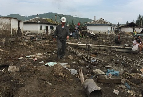 lũ lụt Triều Tiên
