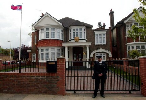 Đại sứ quán Triều Tiên ở London, Anh