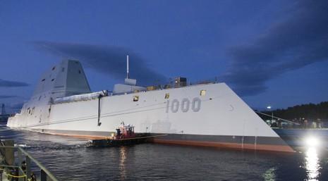 Tàu khu trục DDG 1000 lớp Zumwalt của hải quân Mỹ