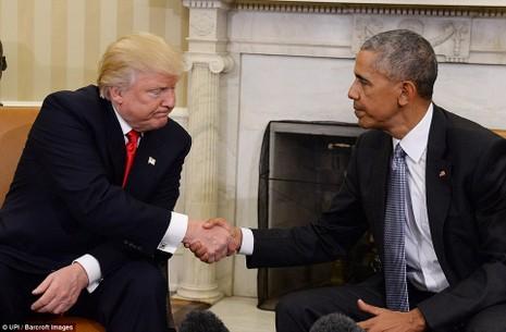 Trump gặp Obama trong Nhà Trắng