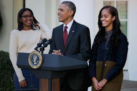 Tổng thống Obama và hai cô con gái