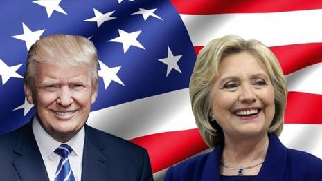 trump và hillary