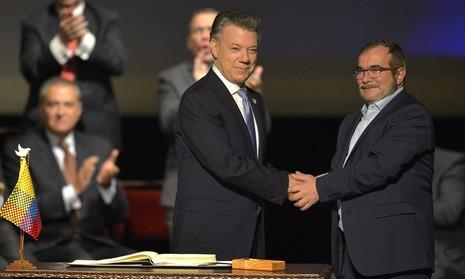 Colombia ký hiệp định thỏa thuận mới