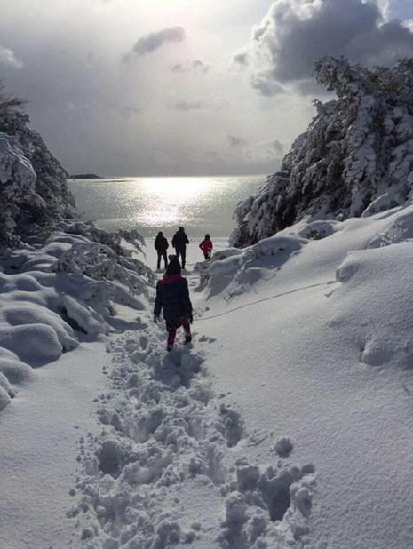 mưa tuyết ở Ý