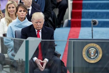 Khoảnh khắc ấn tượng tại lễ nhậm chức của ông Trump - ảnh 11