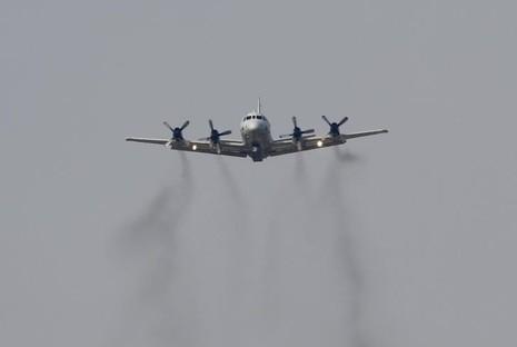 Máy bay P-3 của hải quân Mỹ.