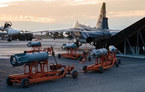 Syria đưa gần hết chiến đấu cơ tới gần căn cứ Nga - ảnh 1