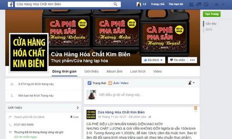 Thông tin mới vụ 'rao bán cà phê bẩn trên Facebook' - ảnh 1