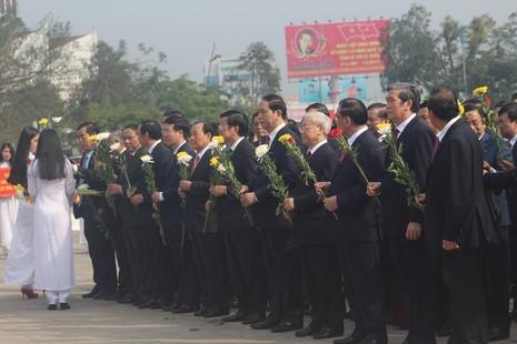Kỷ niệm 110 năm ngày sinh cố Tổng Bí thư Lê Duẩn - ảnh 7