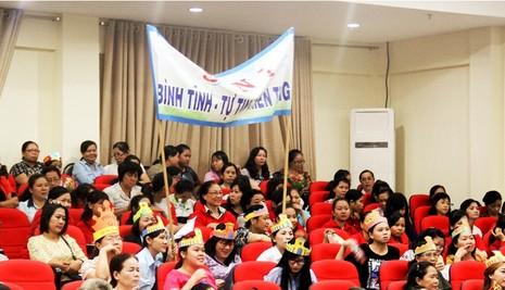 Hàng trăm nữ tiểu thương tham gia hội thi 'Phụ nữ và pháp luật' - ảnh 4