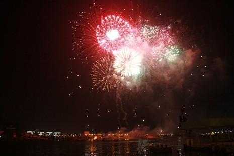 Lung linh pháo hoa chào năm mới Bính Thân - ảnh 2