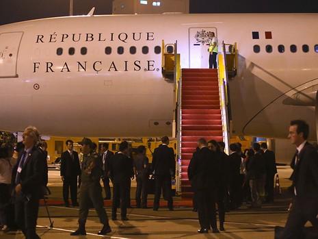Tổng thống Pháp kết thúc 1 ngày thăm và làm việc tại TP.HCM - ảnh 4