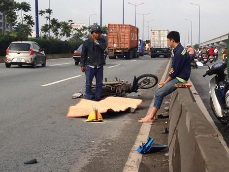 Nam công nhân tử vong ngay tại chỗ vì vết thương quá nặng