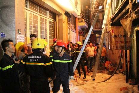 Cháy nhà tại khu phố Tây nghi do ngáo đá đốt  - ảnh 3