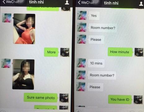Môi giới 2 cô gái bán dâm cho một khách - ảnh 2