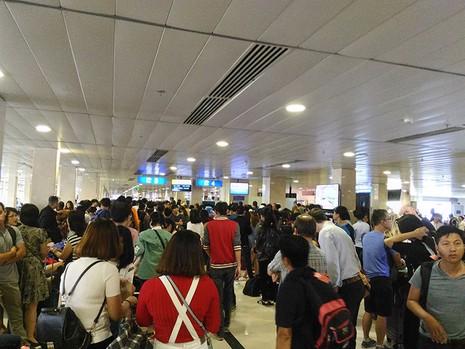 Sân bay Tân Sơn Nhất lưu ý trộm cắp dịp cận Tết - ảnh 1