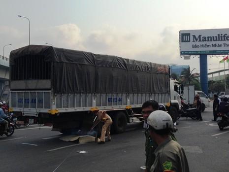 Cô gái trẻ bị xe tải đụng chết ở ngã tư Vũng Tàu - ảnh 2