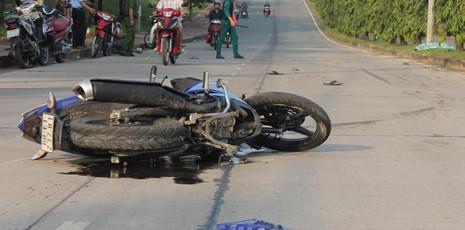 Xe Exciter đụng xe Suzuki, đôi nam nữ chết thảm - ảnh 1