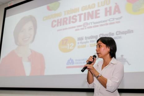 Christine Hà: 'Cuộc sống không vì nỗi đau của vài người mà dừng lại'. - ảnh 3
