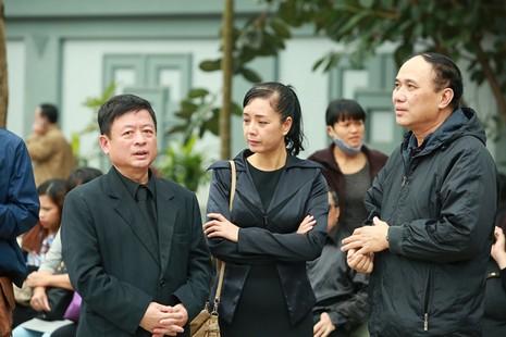 Dàn sao Việt nghẹn ngào tiễn biệt nhạc sĩ Lương Minh  - ảnh 10