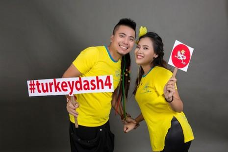 Đông đảo nghệ sĩ chụp ảnh quảng bá Turkey Dash 4 - ảnh 3