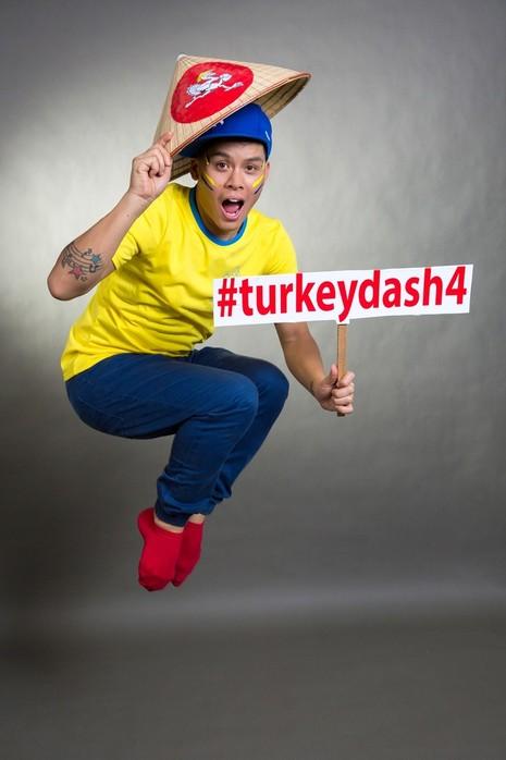 Đông đảo nghệ sĩ chụp ảnh quảng bá Turkey Dash 4 - ảnh 5
