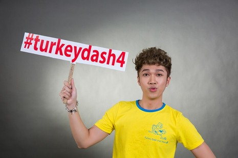 Đông đảo nghệ sĩ chụp ảnh quảng bá Turkey Dash 4 - ảnh 10