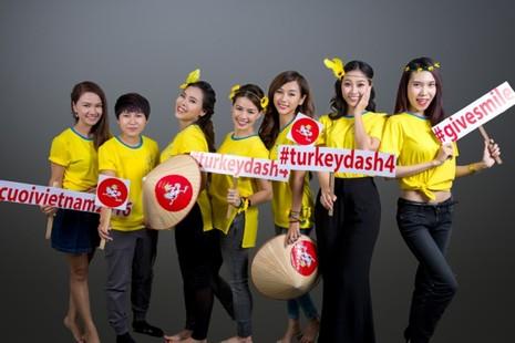 Đông đảo nghệ sĩ chụp ảnh quảng bá Turkey Dash 4 - ảnh 6